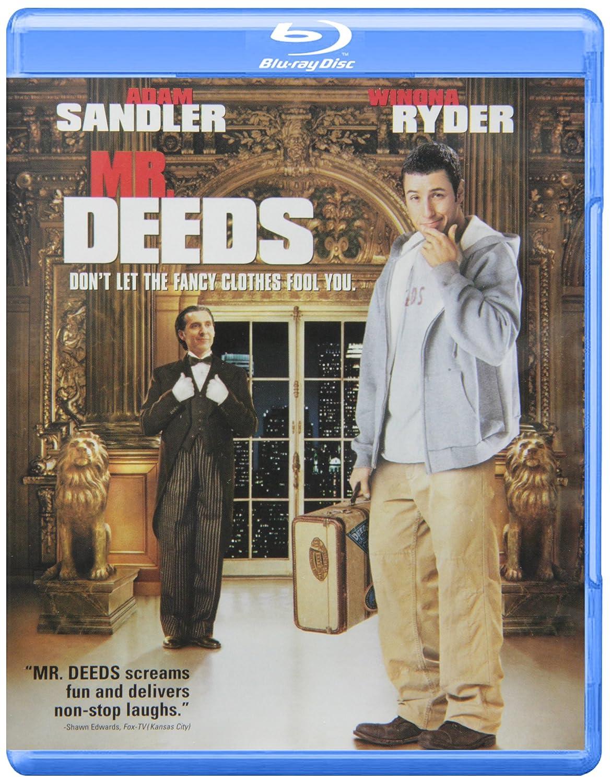 Amazon Mr Deeds Blu Ray Jared Harris Erick Avari Peter