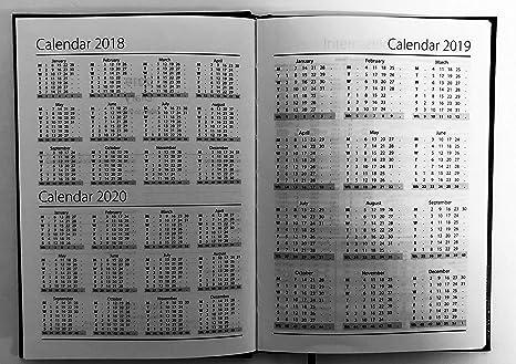 2019 - Agenda (A6, día por página, 1 unidad): Amazon.es ...