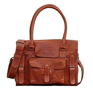 LE RIVE GAUCHE M Naturel sac bandoulière cuir style vintage PAUL MARIUS 0uxbLlaH5w