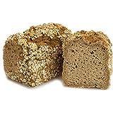 Bio Haferbrot aus glutenfreien Haferflocken 500 g Vollkornbrot vegan reich an Beta Glucan