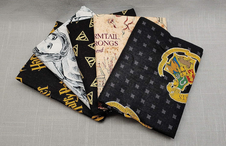5 Piece STAX Harry Potter Fat Quarter Bundle