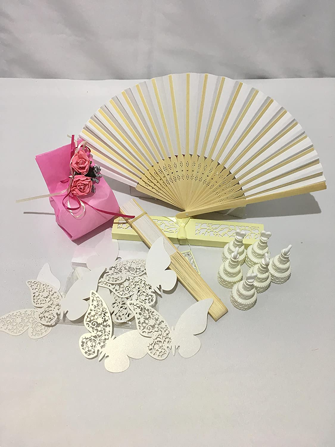 E-Randi Set For Weddings And Parties: 20 Fans With Case, 100 ...