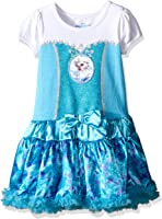 Disney Girls' 2 Piece Frozen Elsa Role Play Dress