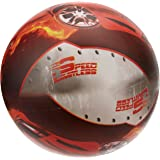 Majorette Vinyl Playball Deflated 230 mm/9-inch, Red