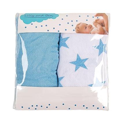 Funda para cambiador bebe - 2 fundas para colchoneta cambiador funda bañera 50x70 50x80 toalla ajustable