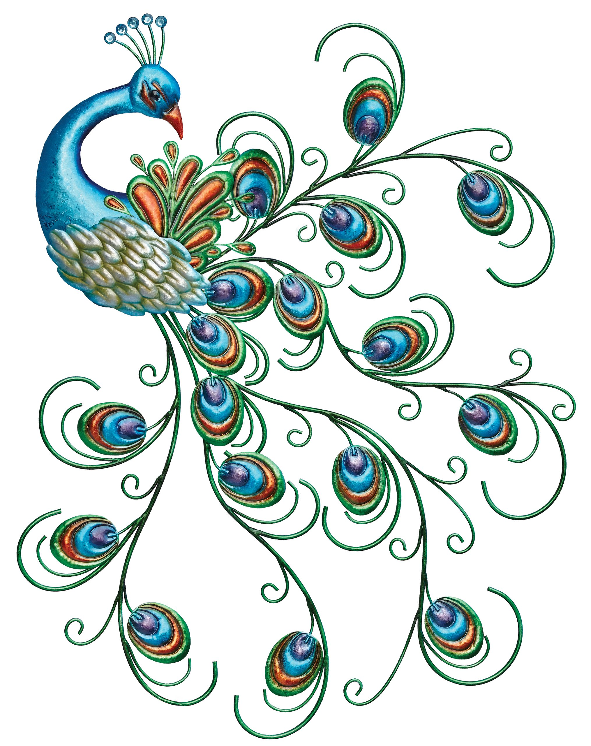 Regal Art & Gift Pretty Peacock Wall Decor by Regal Art & Gift