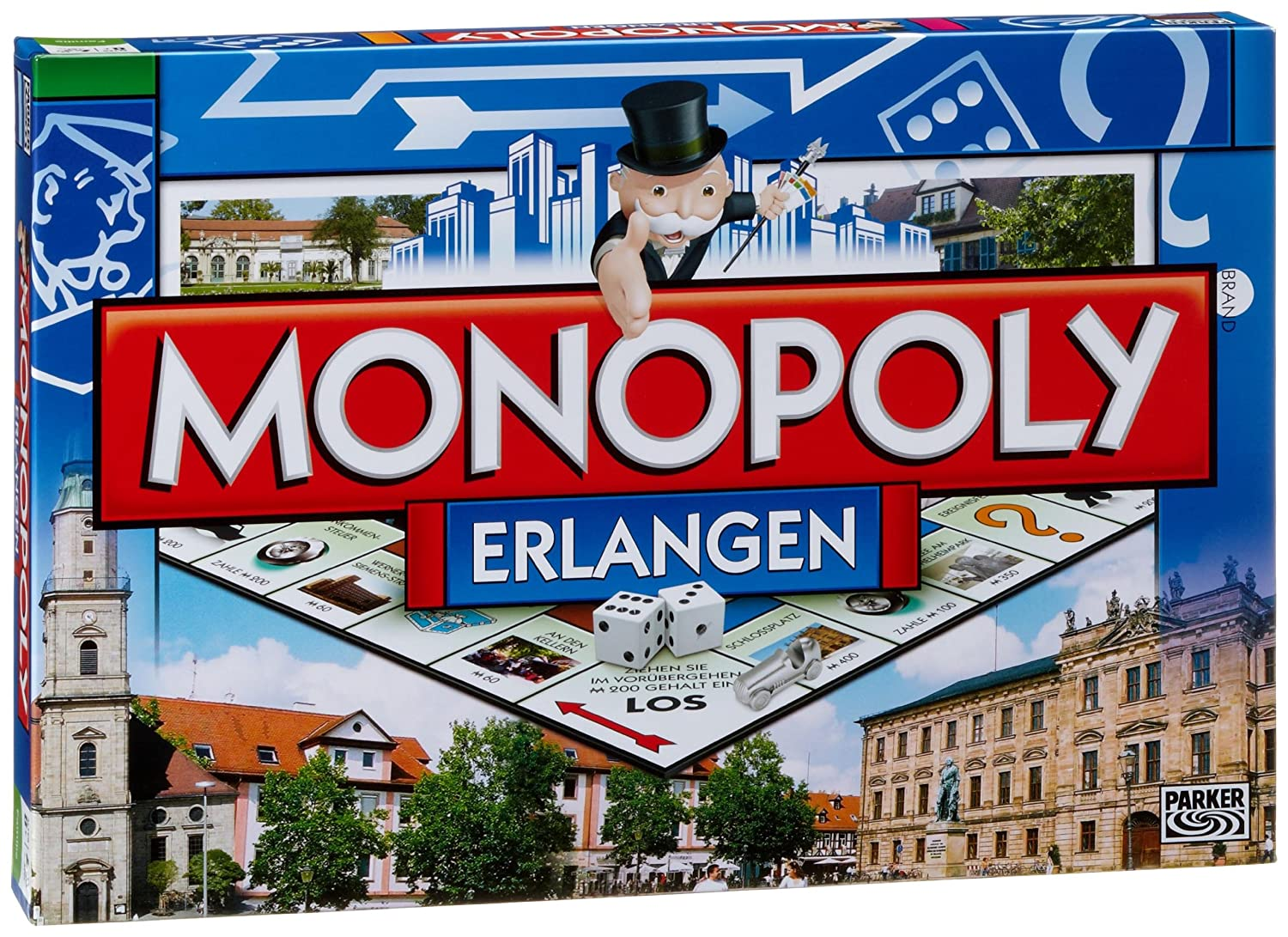 Winning-Moves 41207 - Monopoly Erlangen