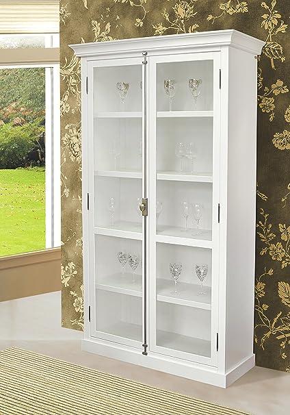 Amazon.com: Artefama Furniture Cast Display Cabinet: Kitchen ...
