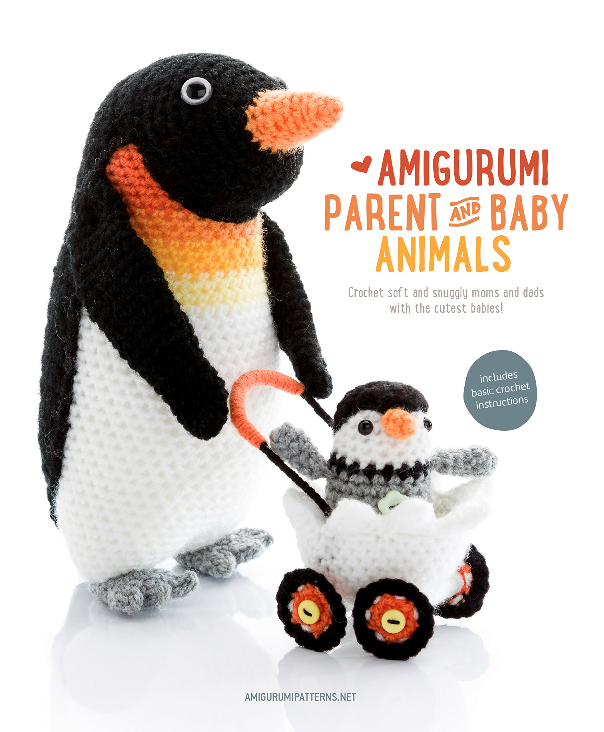 Amigurumi Parent And Baby Animals Crochet Soft And Snuggly Moms And