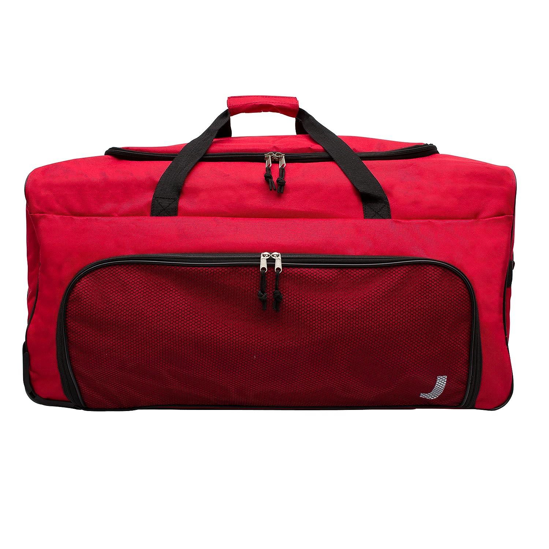 fed56eab91 Jetstream 28 Wheeled Sports Duffle Equipment Bag (Red) B0354 JT RED
