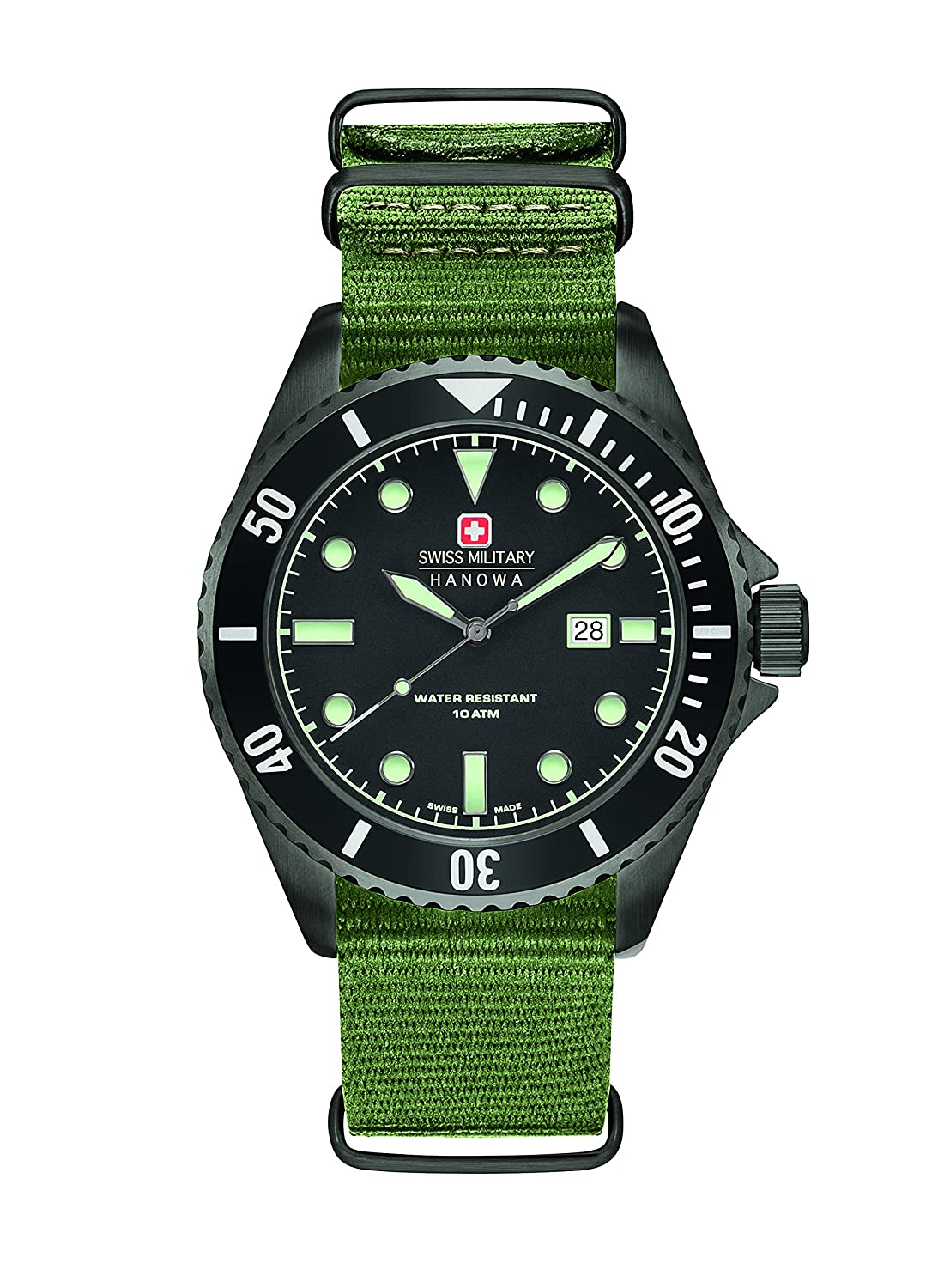 Swiss Military Herren-Armbanduhr Analog Quarz 6-4279.13.007