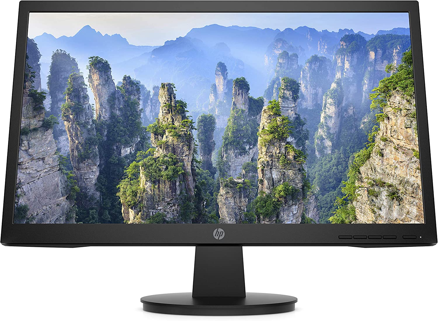 HP V22 FHD Monitor | 21.5-inch Diagonal FHD Computer Monitor with TN Panel and Blue Light Settings | HP Monitor with Tiltable Screen HDMI and VGA Port | (9SV78AA#ABA)