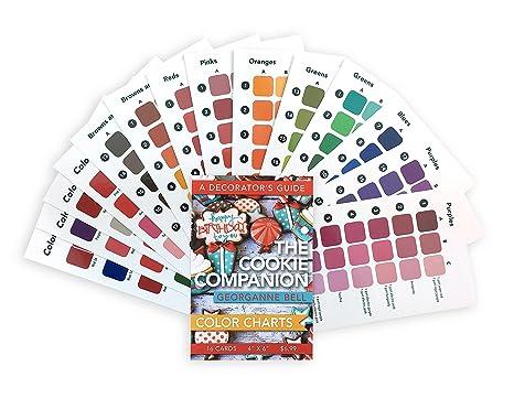 Amazon.com: Color de 16 Cookie Decorating Charts – 4