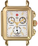 MICHELE Women's MW06P00C9046 Deco Two-Tone Stainless Steel Watch Head