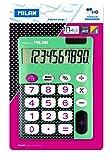 Milan 150610DBBBL Blister Calculatrice Electronique 10 chiffres Touches grands