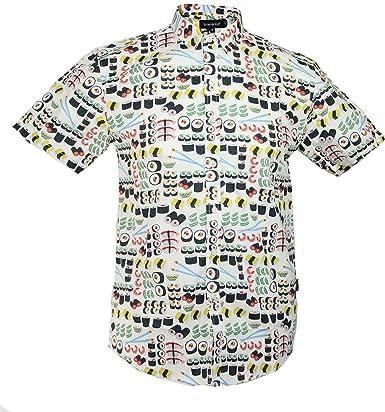 TRANKILO Camisa Estampado de Sushi (S): Amazon.es: Ropa y accesorios