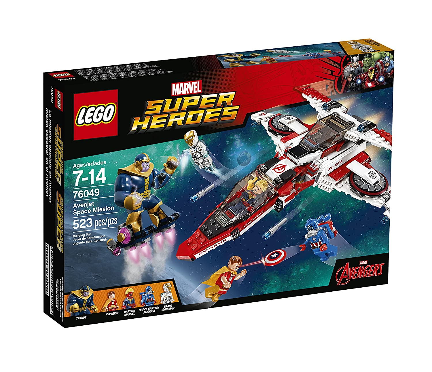Top 9 Best LEGO Captain America Sets Reviews in 2019 8