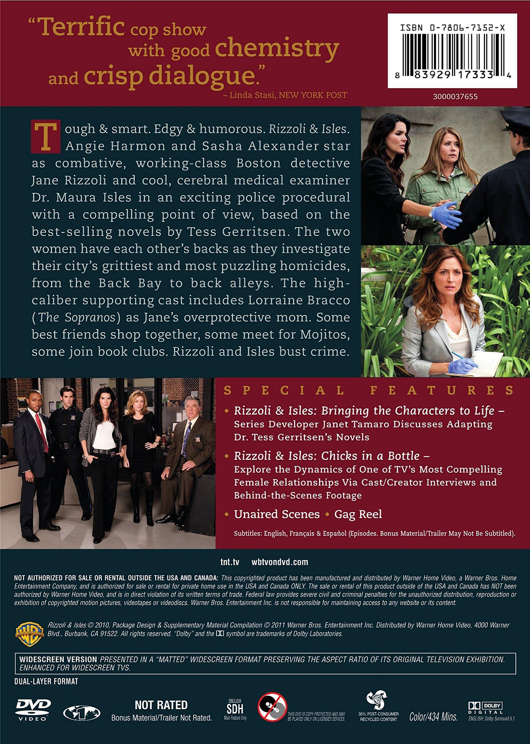 Rizzoli & Isles: Season 1 by Warner Brothers
