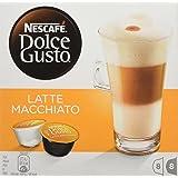 NESCAFÉ Dolce Gusto Latte Machiato Coffee, Pack of 3 (Total 48 Capsules, 24 Servings)
