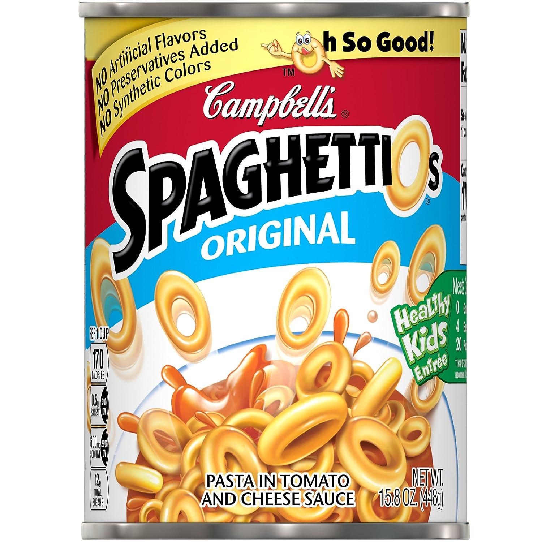 Campbell's SpaghettiOsCanned Pasta, Original, 15.8 oz. Can