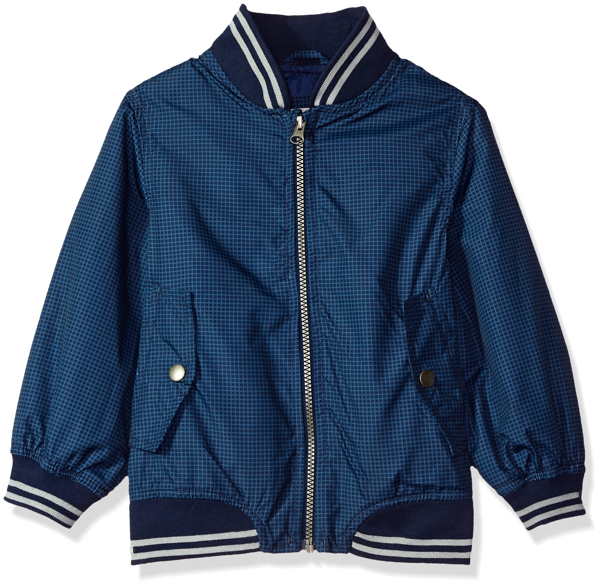 Carter's Toddler Boys' Lightweight Bomber Jacket, Navy, 4T by Carter's