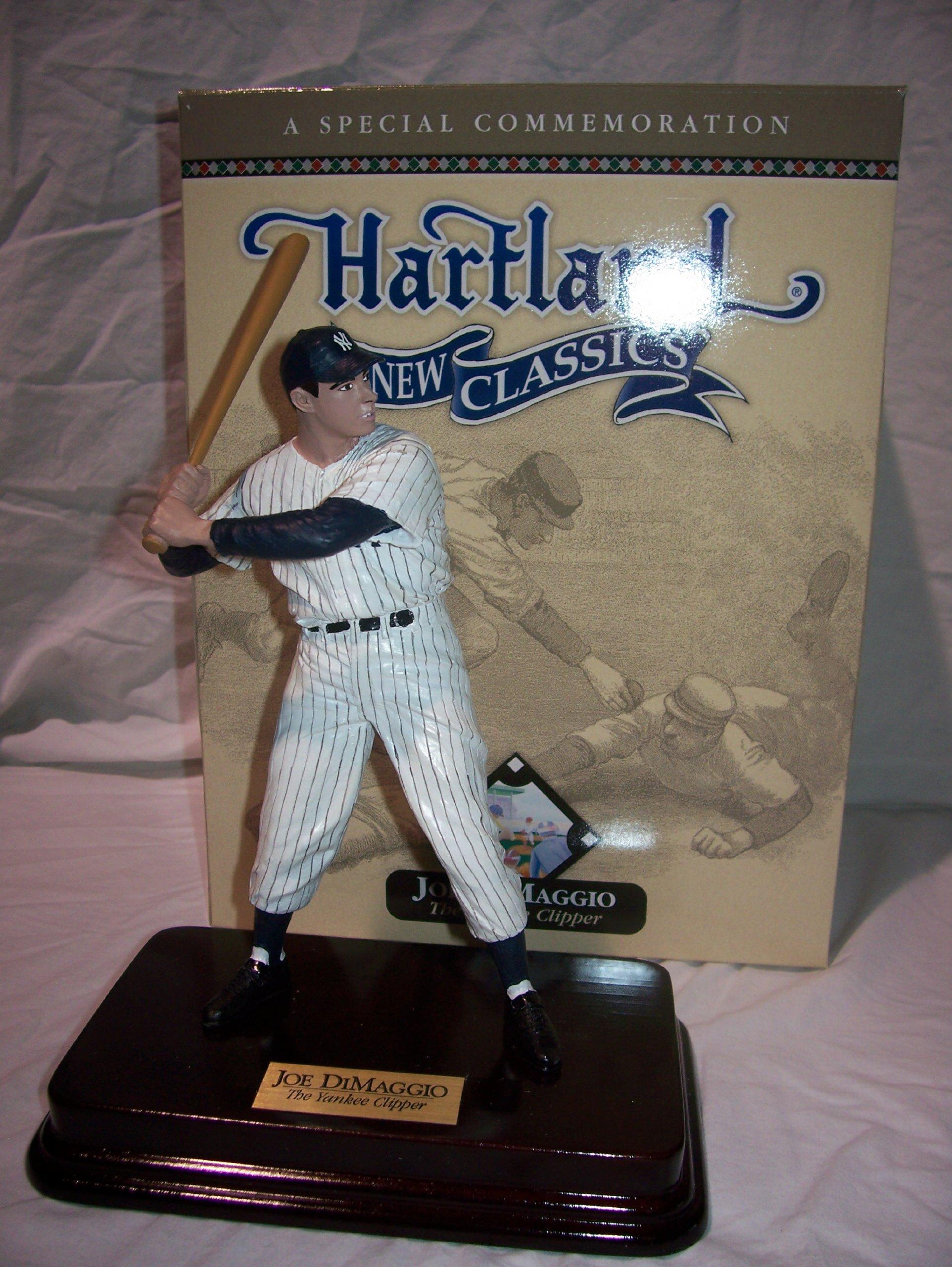 Joe DiMaggio New York Yankees Hartland Batting Figurine