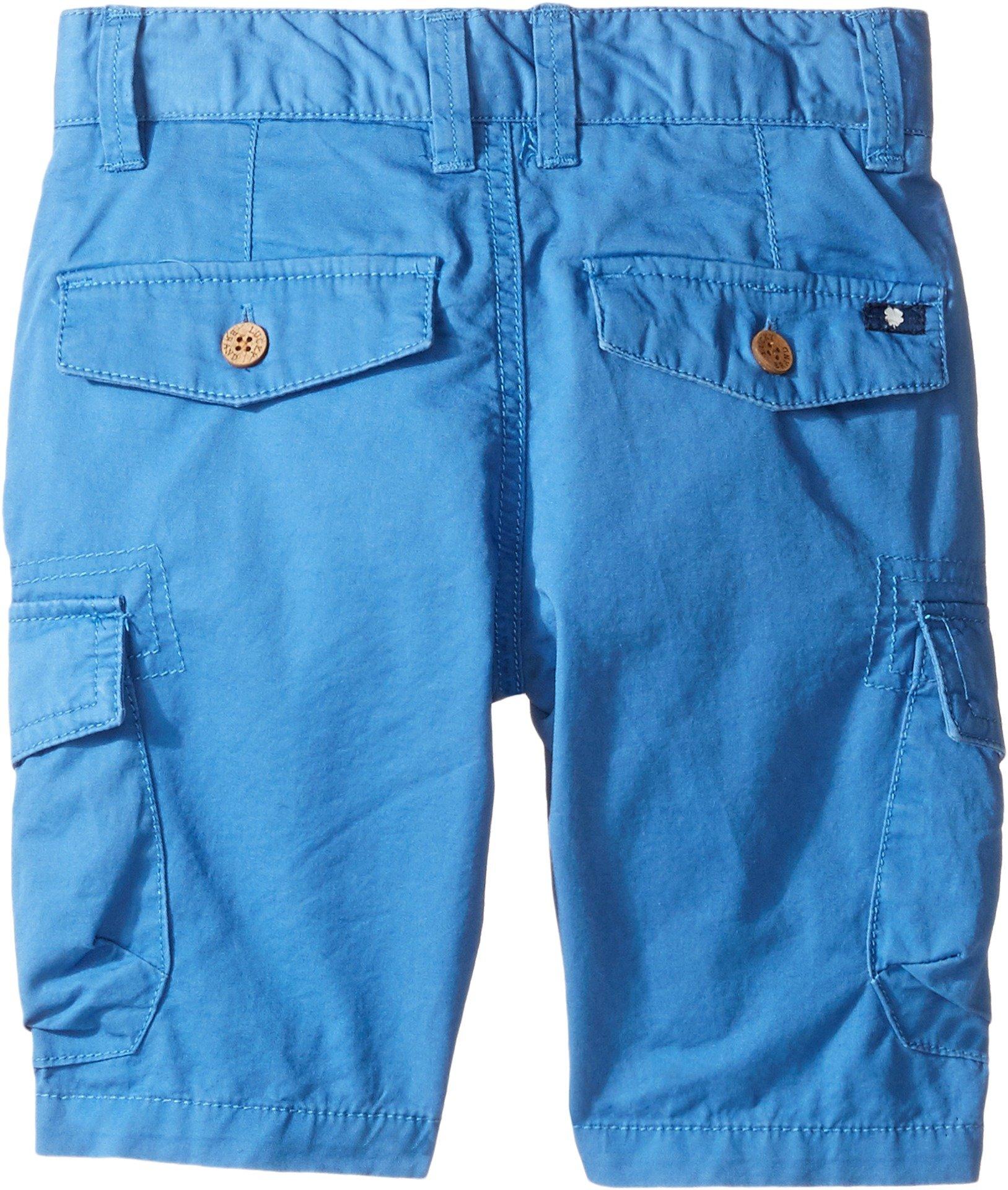 Lucky Brand Toddler Boys' Heritage Short, Blue, 2T