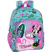 "Minnie Mouse ""Palms"" Oficial MochilaEscolar Niños 330x140x420mm"