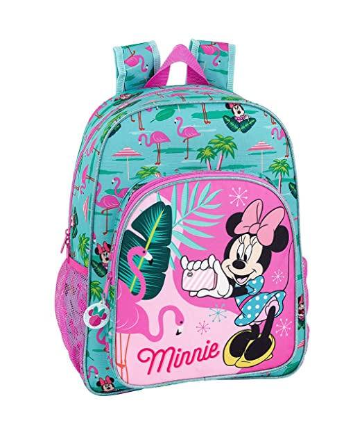 "Minnie Mouse ""Palms"" Oficial Mochila Escolar Niños 330x140x420mm"