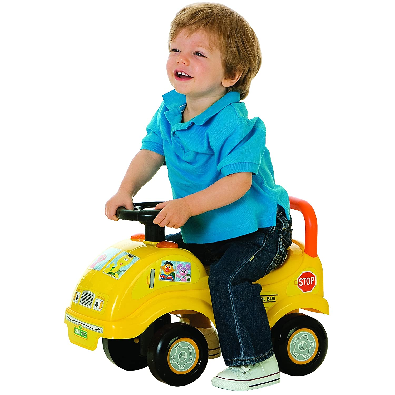 Amazon Tek Nek Sesame Street School Bus Ride Toys & Games
