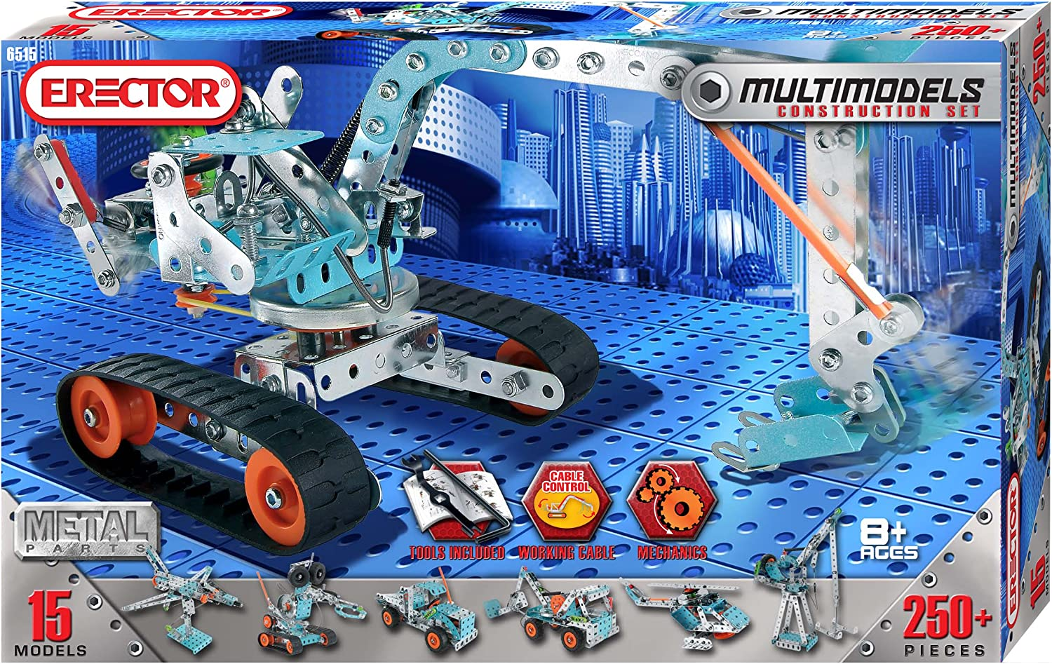 Top 10 Best Erector Sets for Kids (2020 Reviews & Guide) 7