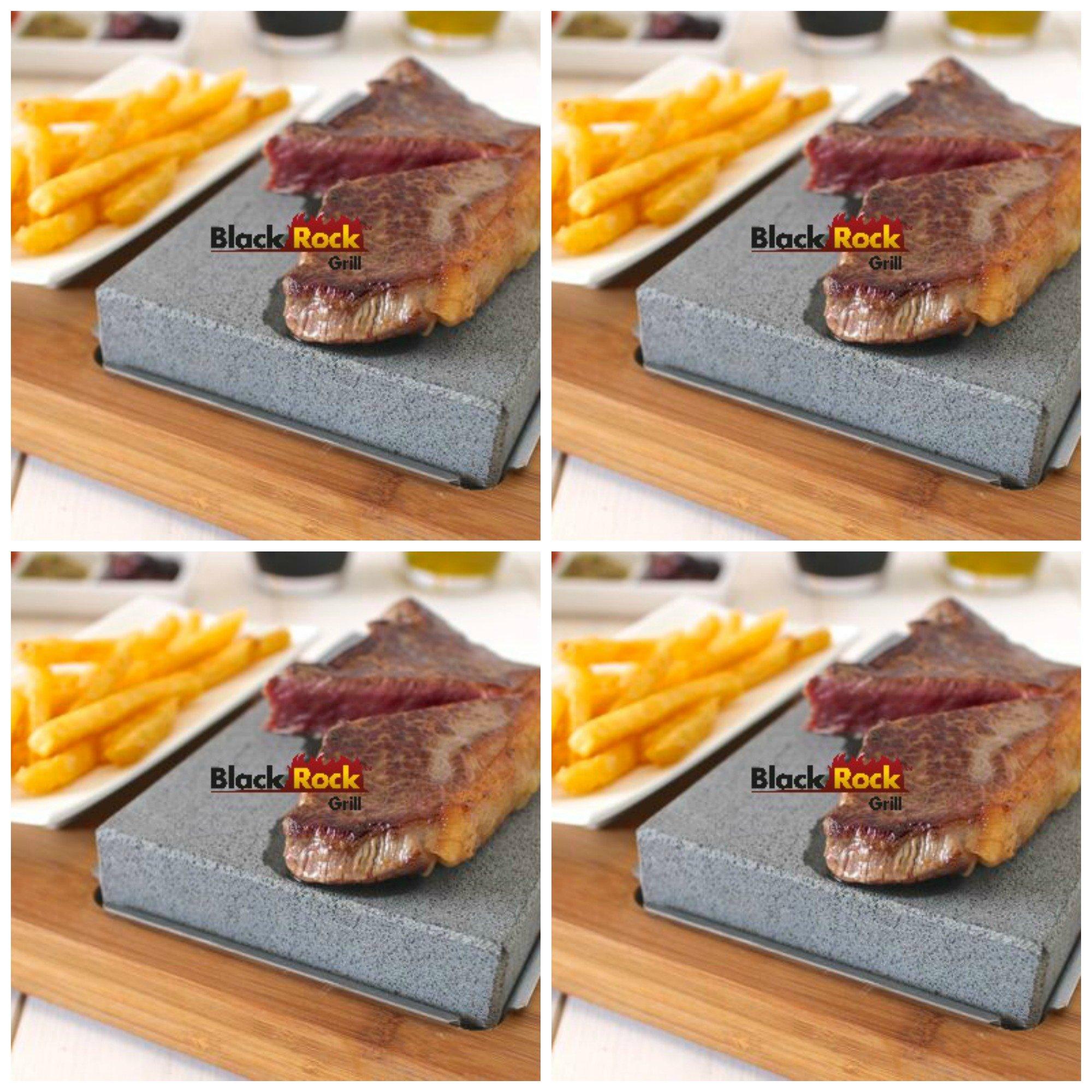 Lava Stone Steak Set of 4