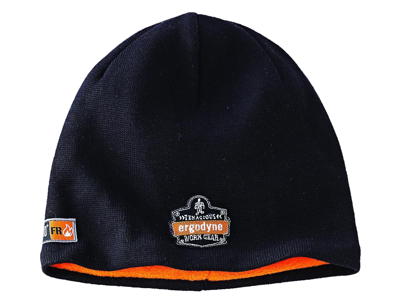 8ff0f7383 Ergodyne N-Ferno 6820 Fire Resistant Thermal Knit Beanie Cap, Black