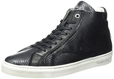 Noir 25Y Donne PAULARO Femme d'Oro Baskets Black Pantofola Mid nqOz7PwFY