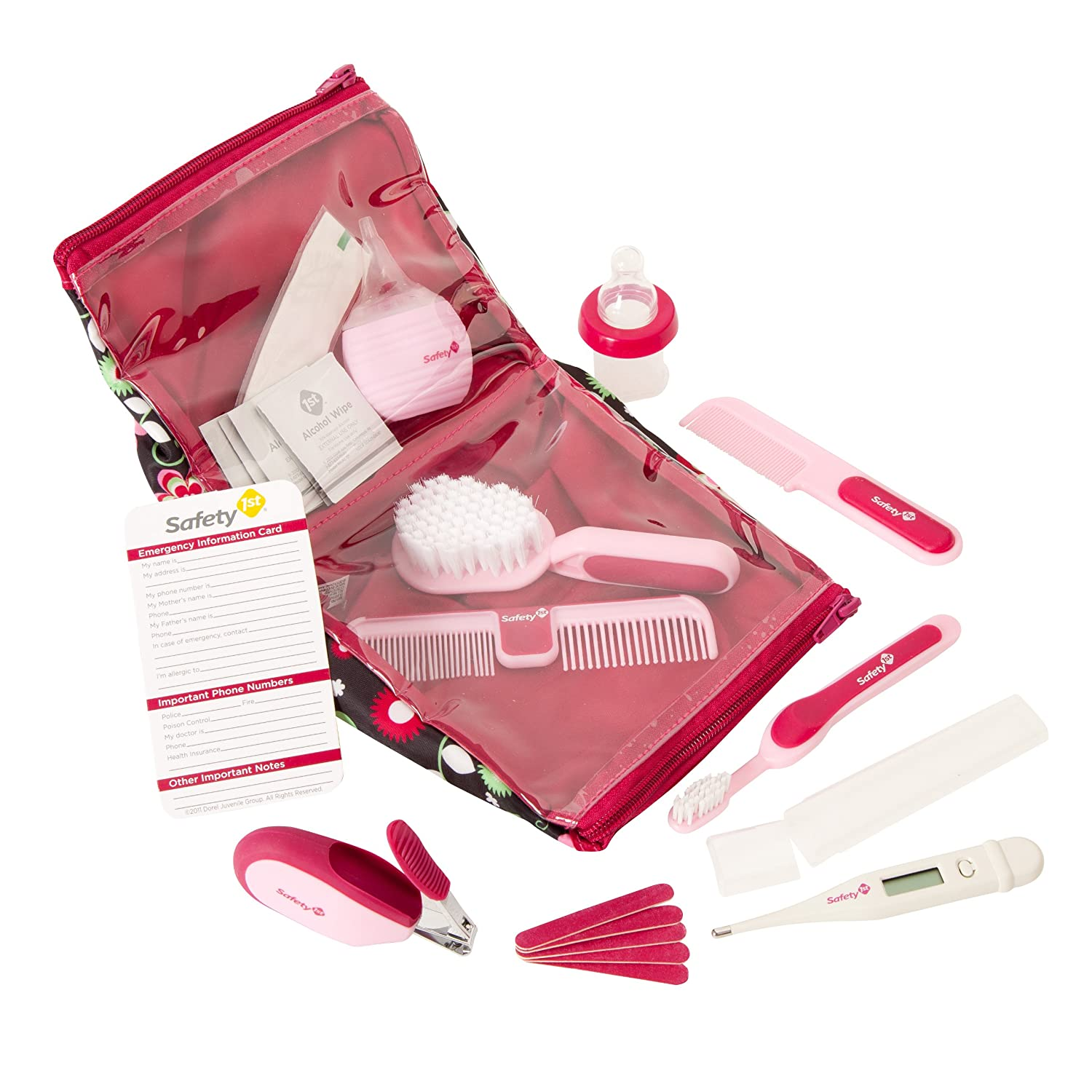 Safety 1st IH2660300 Deluxe Healthcare and Grooming Kit, Pink Dorel Juvenile Canada