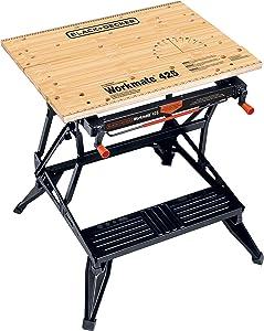BLACK+DECKER Workmate Portable Workbench, 425-to-550-Pound Capacity (WM425)