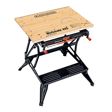 Admirable Black Decker Wm425 Workmate 425 550 Pound Capacity Portable Work Bench Alphanode Cool Chair Designs And Ideas Alphanodeonline