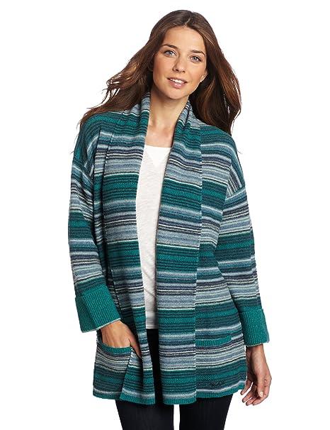 Amazon.com: Woolrich Womens Caledonia Wrap Cardigan Sweater ...
