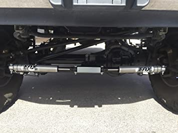FOX 2 0 Dual Steering Stabilizer Kit For a Lifted Ford 2005-2019 F-250 F-350