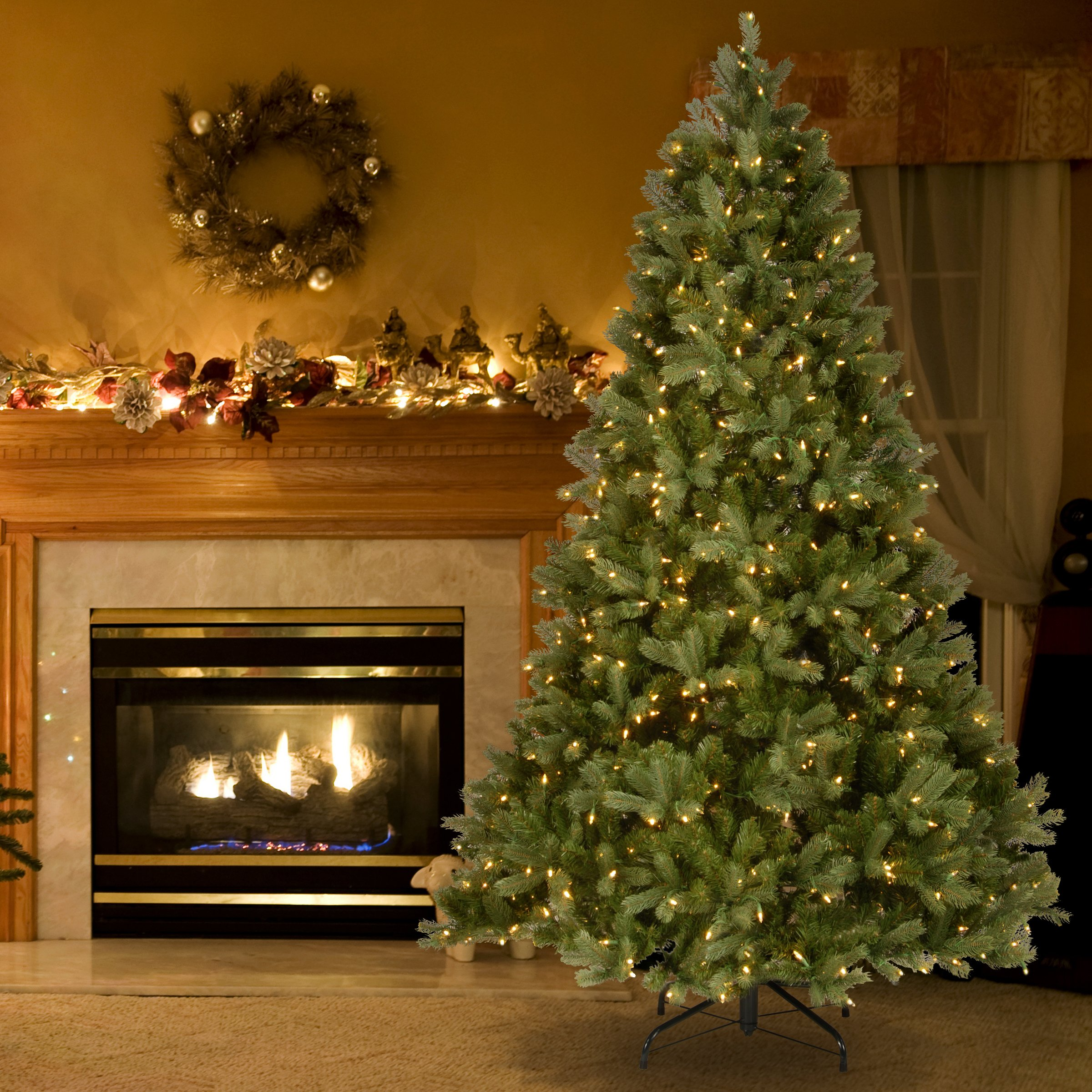 National Tree 7.5 ft. Downswept Douglas Tree with Clear Lights by National Tree Company (Image #2)