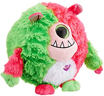 Ty Monstaz Spike Monster - Monstruo de peluche (tamaño grande), color rojo y