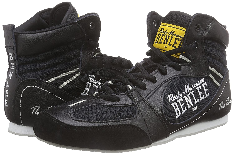 BENLEE Rocky Marciano Zapatillas de Boxeo Para Hombre, Color Negro, Talla 40