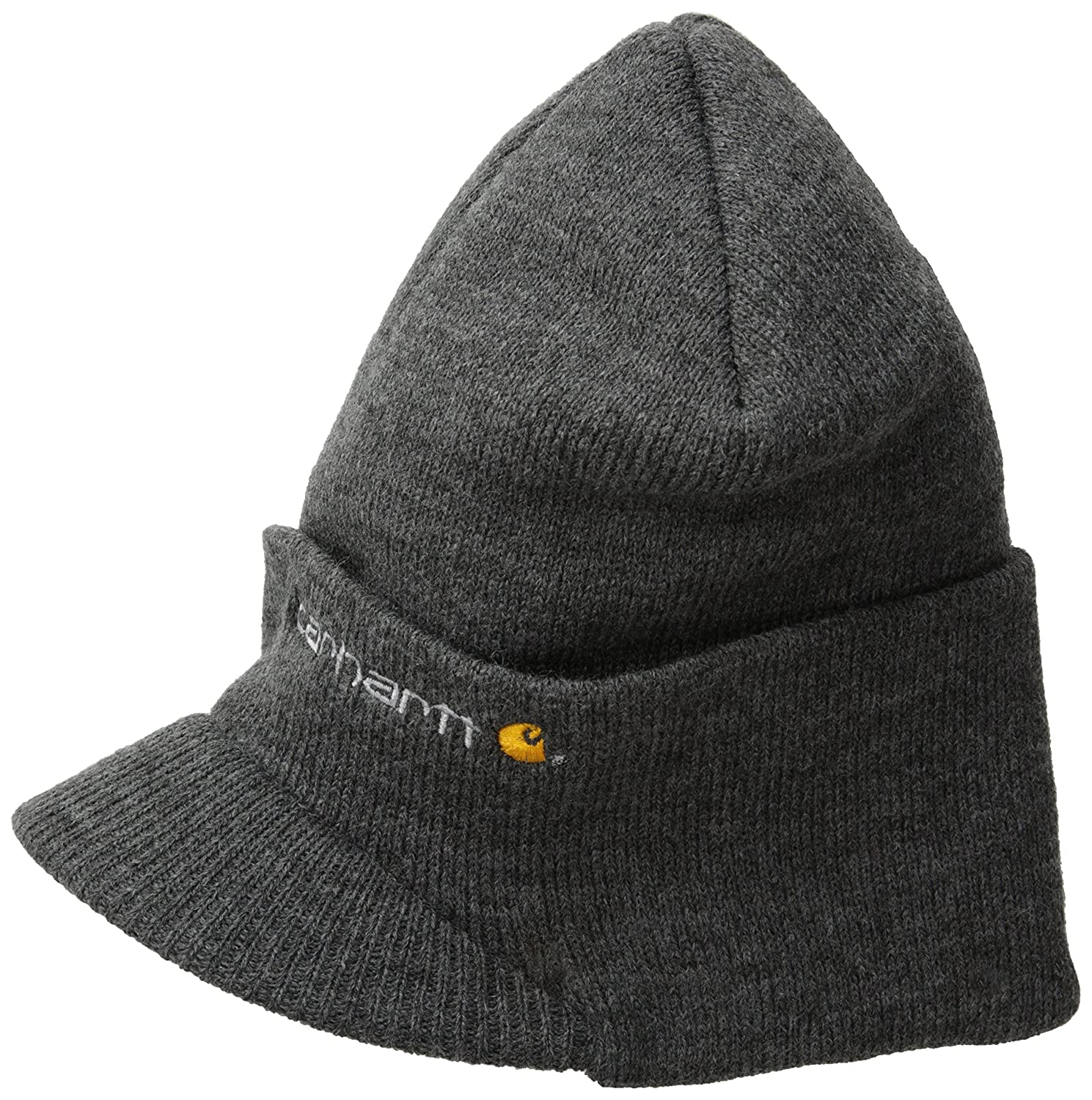 Men s Knit Hat With Visor cbcc853ad74a