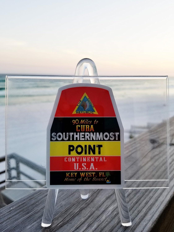 Amazon com key west florida vinyl decal buoy sticker 4 x 2 9 automotive