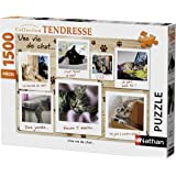 Nathan 87778 - Puzzle Chatons 1500 pièces