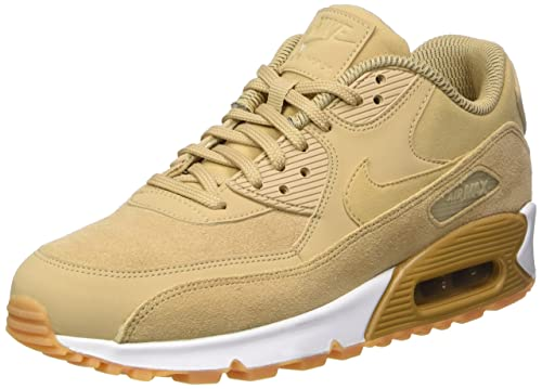huge selection of 78d2f 0c4ac ... reduced nike womens air max 90 se gymnastics shoes beige mushroom gum  light brown 0d0a3 70c39