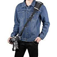 Sugelary Adjustable Quick Release Cross Body Shoulder Sling Camera Strap Belt for Canon Nikon Sony Fujifilm Olympus DSLR SLR
