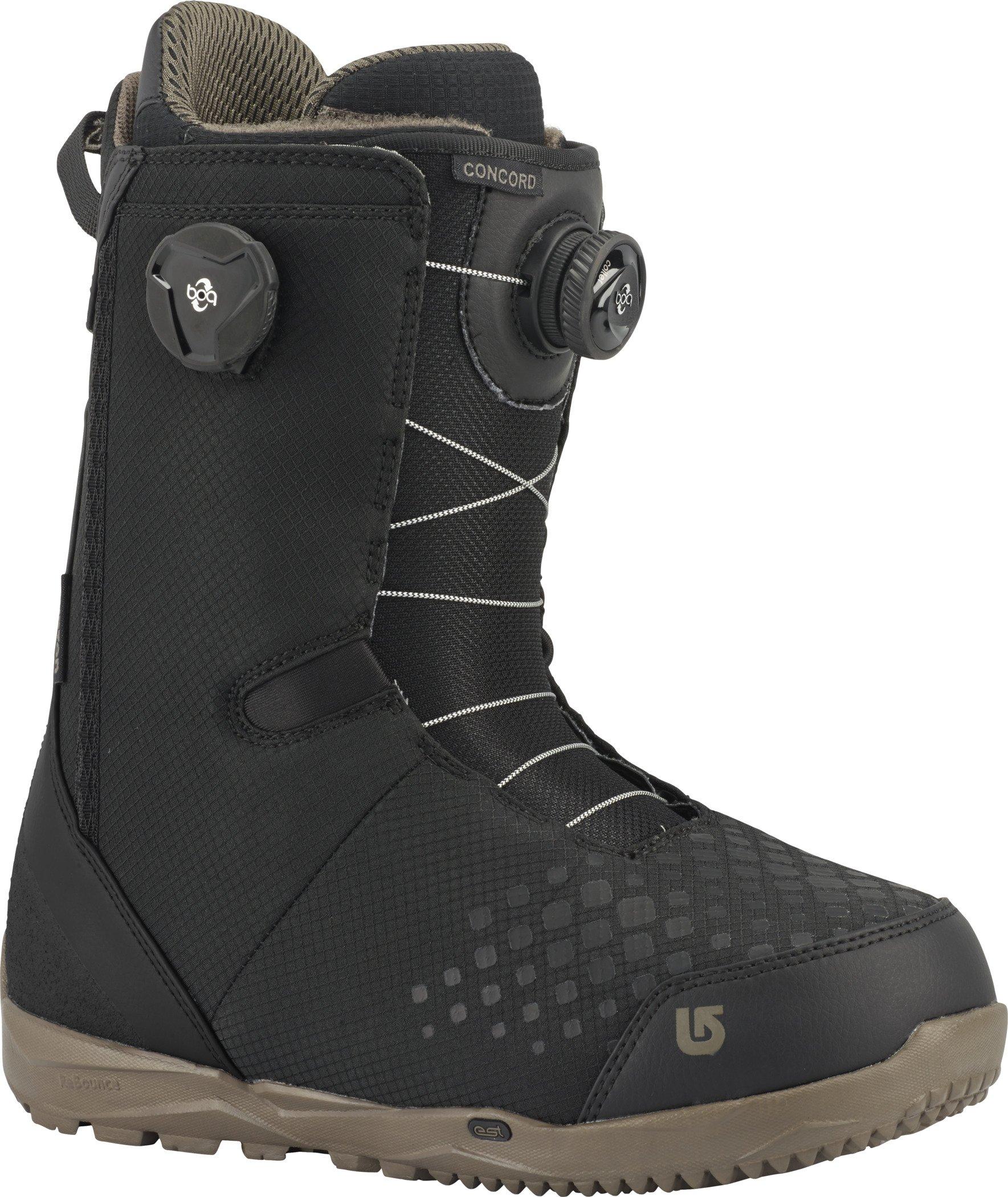 Burton Concord Boa Snowboard Boots 2018 - 10.0/Black by Burton
