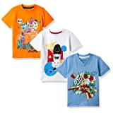 Cherokee Boys' T-Shirt (Pack of 3)