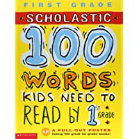 Scholastic 100 Words Kids Need to Read by 1st Grade 英語 アクティビティブック